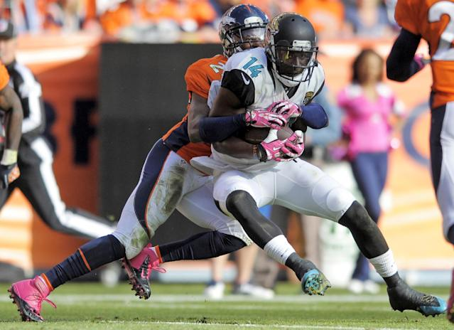 Jaguars not counting on suspended WR Justin Blackmon playing in 2014