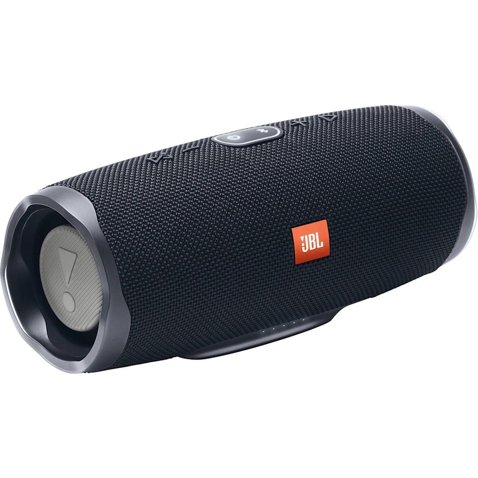 """<p><strong>JBL</strong></p><p>amazon.com</p><p><strong>$149.95</strong></p><p><a href=""""https://www.amazon.com/dp/B07HKN3K31?tag=syn-yahoo-20&ascsubtag=%5Bartid%7C2140.g.33628308%5Bsrc%7Cyahoo-us"""" rel=""""nofollow noopener"""" target=""""_blank"""" data-ylk=""""slk:Shop Now"""" class=""""link rapid-noclick-resp"""">Shop Now</a></p><p>Liven up the next family gathering with this portable wireless speaker. Now you just have to agree on whose Spotify playlist should be queued up.</p>"""