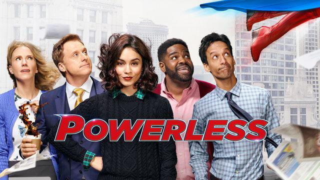 Short-lived DC sitcom 'Powerless' (credit: DC Entertainment/NBC)