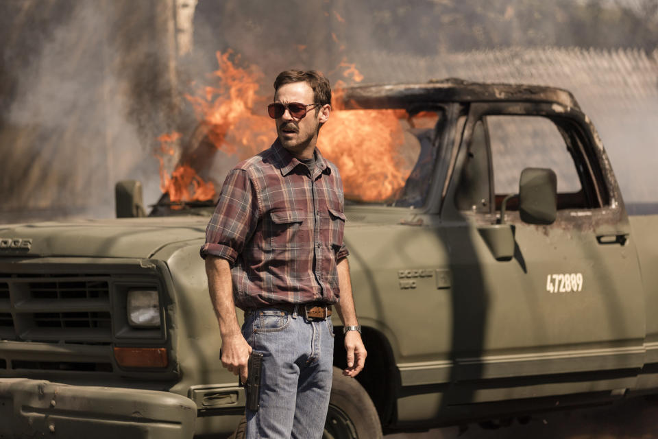 NARCOS MEXICO (L to R) SCOOT MCNAIRY as WALT BRESLIN in episode 305 of NARCOS MEXICO Cr. JUAN ROSAS/NETFLIX © 2021