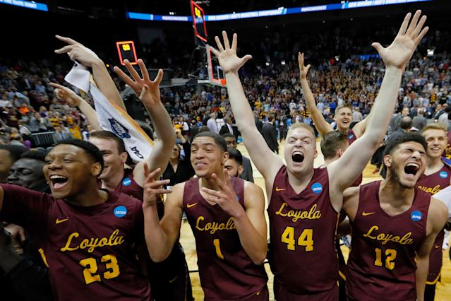 <p>Who could forget Sister Jean, the lovable team chaplain and super fan of the Loyola Ramblers? It was only a year ago, so hopefully you didn't forget it already. Sister Jean became the face of the small Catholic school program which simply refused to lose and wound up earning its first Final Four berth since 1963. The Ramblers became just the fourth 11 seed to reach the Final Four. </p>