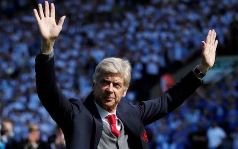 "To the end, there was dignity and, to use one of his favourite words, , humanity to Arsene Wenger as he bowed out,quite literally, as Arsenal manager after 22 years, 1,235 games and this, his 707th victory. One-nil to the Arsenal, in fact, although that was never a scoreline he cherished or that was associated with him. There was sentimentality, too – and why not as Wenger spoke of the appropriateness of Huddersfield Town being his final opponent in what otherwise was an inconsequential fixture? ""Herbert Chapman, maybe our greatest manager, came from here,"" Wenger said. ""For me to come here on the last day had a special meaning when you know the history of our club. In fact, there was a photo just in front of the dressing room where Chapman smiled at me because he was on the photo."" Chapman smiling down on Wenger is certainly some romantic image, one that resonates powerfully for all Arsenal fans. Chapman was Huddersfield's greatest manager, in their golden period in the 1920s when they won league titles, with three stars adorning their shirts, and were such a force in English football that he was poached by Arsenal and transformed them too. For 22 years, for 1,235 games, for 49, 49 undefeated, for 7 FA Cups, for 3 @PremierLeague titles, for two Doubles, for winning the league at Old Trafford and White Hart Lane, for Wengerball, for the Invincibles, for your total love and devotion, we want to say... #MerciArsène❤️ pic.twitter.com/xkRXjLAid2— Arsenal FC (@Arsenal) May 13, 2018 Chapman revolutionised the role of the manager, making him more powerful in an era when decisions were made by committee. Privately, Wenger might ruefully consider the wheel is turning full circle away from his profession, given the nature of his departure, as he first walked past the bust of Chapman at the entrance to the John Smith Stadium, then the photograph before he took to the pitch to be met by a guard of honour. Before kick-off, Wenger strode towards the travelling Arsenal supporters and bowed to them, later saying it was a spontaneous act of appreciation. ""We had disagreements, which I accept, but we had one thing in common: we loved Arsenal Football Club, and I wanted to share that with them,"" he said. Thanks for the 22 years Credit: PA Wenger went to the away dug-out an hour before the game to get some ""oxygen"". ""It's difficult to understand when you don't know how deep the love is for the game [in England],"" Wenger said. ""It was a fantastic experience for me. Where do I go from there? That's the difficulty. When you've experienced this intensity for such a long time, I don't know where I go. I'll remain a fan wherever I go."" Wenger will now look forward to the next phase of his career and his life. The 68-year-old has already divulged he has had many offers and confirmed that they included Premier League clubs. ""Yes, I had offers, yes, of course,"" he said, ""but at the moment, I have not said anything to anybody. I came out of a long process and you cannot just the next morning go somewhere else. It's impossible."" But could he manage against Arsenal? ""I'm not ready for that at the moment,"" Wenger said. ""That would be very difficult, I'd stay at home that day. Maybe, I don't envisage that at the moment. Maybe it's better I go somewhere else."" He suggested that Arsenal are only ""some additions"" away from competing for the Premier League title. Although that may not only depend on how many is ""some"" but who manages them, one player who will be crucial to the future is surely Pierre-Emerick Aubameyang. Arsene Wenger waves to the fans before the match Credit: Reuters Wenger's final signing, if it was his decision, and most expensive ever signing scored the only goal, and it means he has struck 10 times in just 13 league games since he arrived in January for £56 million. The goal was also one that will have delighted Wenger as it was constructed through a slick passing move involving Henrikh Mkhitaryan and Alexandre Lacazette, with the latter sliding the ball through to Aaron Ramsey who prodded it across goal for Aubameyang to force home. Arsene Wenger's replacement at Arsenal That was tough on Huddersfield who should have scored through Steve Mounie, with a header, and Tom Ince, who ballooned over, but it did not detract from the celebratory atmosphere. However, there may be a pang of alarm from their supporters in the non-committal way manager David Wagner later spoke about his own future, having kept the club up against the odds. Fans hold up a Arsene Wenger banner Credit: Getty Club owner Dean Hoyle had taken to the pitch at half-time to suggest Wagner would stay, but the German later said simply that the chairman was putting ""pressure"" on himself with that declaration. Time will soon tell. THE BOSS ❤️#MerciArsènepic.twitter.com/ThKzyCGKRw— Arsenal FC (@Arsenal) May 13, 2018 Huddersfield goalkeeper Jonas Lossl made smart saves from Lacazette and substitute Danny Welbeck while as they made most of the running, Huddersfield went closest when Aaron Mooy clipped the top of the cross-bar, and substitute Laurent Depoitre did not gain enough power with a header. Arsenal in a league of their own... pic.twitter.com/o0oP3Xxfbj— Charlie Eccleshare (@CDEccleshare) May 13, 2018 The result also meant that, at the eighth attempt, Arsenal did not maintain their unwanted record of being the only team in English football to collect just a point away from home in 2018. ""I'm very proud, I've contributed a little bit,"" Wenger said as he departed. ""I've given some good moments to people who love the club. #classy #nicetouch Credit: Reuters ""I don't know what will stay or remain through the victories or defeats. I think what will remain is the formidable human aspect of the last 22 years – that is special, and I will cherish."" And rightly so. Plane truth: a banner for Arsene Credit: Getty 4:58PM Farewell, then, Arsene Wenger You were a brilliant manager and a good person. You transformed English football. You invented pasta. You produced a couple of amazing teams. You stayed too long. You have our thanks and our best wishes. And we now have a match report. Marouane Chamakh's hair mousse, Sumo wrestling and social anthropology - my time covering Arsene Wenger @JWTelegraphhttps://t.co/KkTKN00Ksr— Telegraph Football (@TeleFootball) May 13, 2018 4:57PM More banners! #classy #nicetouch Credit: Reuters 4:52PM Full time: Huddersfield 0 Arsenal 1 Arsene Wenger signs off with that rarest of commodities: an away win! Arsene Wenger bows down to Arsenal's travelling fans https://t.co/3CzXxUfDwDpic.twitter.com/ahnUinnfAn— Telegraph Football (@TeleFootball) May 13, 2018 4:51PM 90+ mins The ball is played in. A Huddersfield player gets a head on it, Ospina bravely gathers and gets a whack in the process. He's stopped it on the line. For a second there is a suggestion that it was over the line, but no. Bit of bad feeling from the players about the challenge on the keeper, and there's a booking. But it is no goal. 4:49PM 90+ mins We are going to have three minutes added. Arsenal fans singing about Arsene. It looks like we are going to have one final play... Huddersfield with a freekick 4:45PM 87 mins Hadergjonaj chests it through and Mooy unloads with a sizzling volley. It hits the bar. Why are you trying to ruin the boss' farewell, Aaron Mooy? �� The Huddersfield midfielder smashes one at goal... but thankfully it clips the bar on its way over#HTFCvAFC �� 0-1 ⚫️ (88) pic.twitter.com/WLGTlPpoFn— Arsenal FC (@Arsenal) May 13, 2018 4:45PM 85 mins Dean Whitehead, who is retiring, comes on. Dean Whitehead makes way. 4:44PM 83 mins Xhaka nearly caps the Wenger era in unfitting fashion, but his long-range screamer goes wide. 4:39PM 81 mins Galloping run from Welbeck, but his decision making lets him down and he thumps the ball straight at the on-rushing keeper. 4:37PM 79 mins Mkhitaryan and Lacazette are through! Perfect ball from Mkhi, ut Lacazette tries to chip the keeper, and Lossl has read him like a comic. Easy grab in the end. 4:36PM 77 mins A corner into the box and that man Mounie has yet again got above his opponents. Cannot get the header on target. He goes down with cramp and, in fact, Wagner is now taking him off. Arsenal's defenders will be glad to see the back of him! 4:33PM 75 mins Ramsey and now Welbeck get chances to deliver balls in, but not able to find the pass. 4:30PM 72 mins Mounie now gets to work on Monreal. He's clattered in to him as they slide for the ball, and is now wrestling with him. 4:29PM 71 mins Arsene shuffles his pack for the last time. Maitland-Niles comes on, Iwobi off. 4:28PM 70 mins It is all Huddersfield, which isn't to say that Arsenal cannot do them on the break, but the pressure is all coming from the home side. They have a corner. Played short... back in... Mounie! No, that header is well wide. 4:25PM 66 mins Danny Welbeck and Nacho Monreal on. Pierre-Emerick Aubameyang and Sead Kolasinac off. I guess Ospina is okay to carry on. He looks a bit sore. 4:24PM 65 mins Deep cross into the Arsenal box, Ospina gathers and gets clattered for his trouble. 4:23PM 64 mins Huddersfield really putting it up to Arsenal now. Mounie breaks, is fouled by Holding and advantage is played, not sure if it really helped their cause. 4:23PM 62 mins Hadergjonaj with an effort. 4:22PM 60 mins Tom Ince has run his race. Laurent Depoitre comes on. 4:17PM 59 mins Mooy with a nice crossfield switch, Pritchard with a reverse pass.... Ince runs onto the ball and cracks a low shot. Good save Ospina! 4:16PM 58 mins Rapier move from Arsenal makes Huddersfield look very lumpen. 4:15PM 57 mins Mooy has had a smack on the conker. There is some blood. 4:14PM 55 mins Huddersfield are clearly from the ""if you don't buy a ticket..."" school of thought. But they keep failing to hit the target. Alex Pritchard drills one over. 4:12PM 54 mins Ospina has hurt his foot/leg and is limping around gingerly. Ooh, fun! Will we see a lesser-spotted keeper? Matt Macey is the goalie on the bench. 4:10PM 52 mins Mounie attempts a bicycle kick. It is not a success. Florent Hadergjona has a go from the edge of the box. 4:10PM 51 mins Pierre-Emerick Aubameyang attempts to #turn #provider but crosses it straight into the keeper's arms. 4:07PM 48 mins Oh no, this is more familiar: individual error by Holding lets Mounie in. The bounce of the ball doesn't go in his favour. Pierre-Emerick Aubameyang certainly has made a flying start to his PL career. Alan Shearer (Blackburn Rovers, 1992/93): 16 (12 goals, 4 assists) Micky Quinn (Coventry City, 1992/93): 16 (14 goals, 2 assists) Kevin Phillips (Sunderland, 1999/2000): 15 (13 goals, 2 assists) Pierre-Emerick Aubameyang (Arsenal, 2017/18): 14 (10 goals, 4 assists) Sergio Aguero (Manchester City, 2011/12): 14 (11 goals, 3 assists) Papiss Cisse (Newcastle United, 2011/12): 14 (13 goals, 1 assist) 4:05PM 47 mins Glory be, some muscular and competent defending from Arsenal! Mooy with a nice cross, Mounie is looking to get up but the Arsenal central defence block him off. 4:02PM 46 mins Second half is underway. What will it bring for Arsene and his team? 3:59PM A good day for fans of ""nice touch"". #nicetouch #nice #touch We're not crying, you are#MerciArsènepic.twitter.com/fjS2tbJUnz— Arsenal FC (@Arsenal) May 13, 2018 3:58PM Tributes There was a sweet tribute to Arsene on 22 minutes (marking his 22 years) as both sets of fans rose to applaud. Fans asked him for a wave and he delivered. Arsene Wenger waves to the fans before the match Credit: Reuters 3:48PM Half time: Huddersfield 0 Arsenal 1 Arsene strides off to give his last half-time talk. A low-impact fixture, his side were a bit sloppy in the first 20, and Huddersfield had the better of it. The one moment of real forward quality came from Aubameyang, whose excellent movement took him into the six-yard box for a tap-in. 3:46PM Lingo bingo This ""au revoir"" and ""merci"" Arsene thing: he's been here 22 years. Wouldn't cheerio and cheers be better?— Paul Hayward (@_PaulHayward) May 13, 2018 3:46PM A nice gift from AW to his successor Pierre-Emerick Aubameyang has become the fastest Arsenal player in history to reach 10 PL goals, taking him just 13 games to reach that tally. Congratulations, @Aubameyang7! #afcpic.twitter.com/25HTW3Piuq— afcstuff (@afcstuff) May 13, 2018 3:44PM 40 mins Arsenal looking a lot more confident now. HTFC had much the better of things in the first quarter. 3:39PM GOAL! Arsenal have scored And it is Aubameyang (38) YESSSSS AUBA!#HTFCvAFC �� 0-1 ⚫️ (38) pic.twitter.com/JC5H8JHfVI— Arsenal FC (@Arsenal) May 13, 2018 Alexandre Lacazette slides it to Aaron Ramsey on the left. His low cross is on a silver plate for Pierre-Emerick Aubameyang, who slots it away neatly. 3:35PM 33 mins This is a bit more like it! Passionate, aggressive sliding tackle from Terence Kongolo on Aubameyang, who was haring after a ball from Alex Iwobi. 3:33PM 31 mins Affable encounter, both sides happy to let each other take a touch and have a go at attacking. A bit like a game in the park after two cans. 3:31PM 28 mins Read an article by Sam Wallace earlier about players' wages. Pierre-Emerick Aubameyang featured. Becoz eeez worf eeet. He really isn't. Anyhow. Here come Arsenal. Mkhi with lash at goal. Deflected for a corner. Arsenal's third such. Comes to nothing. 3:28PM 26 mins Arsenal go close. A corner, a flicked header, and Kolasinac stabs it wide at the back post. 3:25PM 22 mins Huddersfield fans: ""You wanted him out, you wanted him out, you two-faced b*******, you wanted him out.""#afc fans: ""Herbert Chapman, he left 'cos you're s***.""— James Olley (@JamesOlley) May 13, 2018 Applause from all corners of the ground to mark Wenger's 22 years. Pure class from #htafc fans, standing to applaud Wenger on 22 minutes, celebrating his 22 years at #afc. Whole stadium stands. Wenger steps from dug-out and waves his thanks.— Henry Winter (@henrywinter) May 13, 2018 Asked to ""give us a wave"", he does. Minute 22: the whole stadium rises as one to give the boss a standing ovation That's class from you, @htafcdotcom - thanks, we appreciate it ��#HTFCvAFC �� 0-0 ⚫️ (22) pic.twitter.com/egqQD3vAfV— Arsenal FC (@Arsenal) May 13, 2018 3:21PM 19 mins Henrikh Mkhitaryan tries to get the freekick over the wall, but only manages to hit someone in the knee. A pathetic dead ball attempt. He wins an ill-deserved corner. That comes to little. 3:20PM 18 mins Arsenal break, but give it away. Now another break from the visitors. Sead Kolasinac , for some reason, decides he's going to try and beat the whole team. Chopped down on the edge of the area by Mathias Jorgensen. 3:18PM 14 mins Ince again! Another shot, this one wide. Arsenal haven't turned up at all and a team with better strikers than Huddersfield would be up by now. 3:15PM Plane speaking An airplane flies over the stadium with a message to Arsene Wenger Credit: Getty 3:14PM 10 mins Unless his spineless team wake up, old Mr W is going to be signing off with a defeat. They're getting opened up with ease here. Alex Pritchard gallopes onto a long ball. He clips it back for Ince, who should have done a lot better from 10 or so yards out. Wellied it over the bar. 3:10PM 9 mins Mounie, who is bullying these Arsenal boys, gets up for a header and crunches Mustafi. Delay while he gets attention. 3:09PM Thanks Fans hold up a Arsene Wenger banner Credit: Getty 3:07PM 5 mins A plane flies over the stadium with a 'Merci Arsene' banner. But the manager's attention is now focused on the Arsenal penalty area. A corner. Mounie again gets up above the defence. Heads it down at goal. Blocked. And a follow up! Christopher Schindler's struck that well, but Arsenal scramble clear. 3:04PM 3 mins But we have our first chance now, as Huddersfield get down the right. Cross in, Moune gets up, and he works the keeper with a header. 3:04PM 2 mins It's a happy occasion for the Huddersfield fans, able to go into the last day knowing that they will definitely be staying up. A friendly atmosphere so far. 3:02PM 1 mins Kick off. It's a nice day up in Hudders. 2:49PM Gifts aplenty �� Head Coach David Wagner presented Arsène Wenger with a special gift from #htafc ahead of today's @premierleague match (AT) pic.twitter.com/AhIjPmbUtU— Huddersfield Town (@htafcdotcom) May 13, 2018 2:42PM Oh happy day Let's make sure we get our 716th and final win of the Wenger era#MerciArsènepic.twitter.com/5GSNIfNvXp— Arsenal FC (@Arsenal) May 13, 2018 2:25PM It has finished 5-5 at Easter Road Just incredible. Right then. To business. 2:20PM Le Boss THE BOSS ❤️#MerciArsènepic.twitter.com/ThKzyCGKRw— Arsenal FC (@Arsenal) May 13, 2018 2:18PM Brilliant piece on Arsene Wenger A generous, open-hearted article by a generous, open-hearted writer on a generous, open-hearted man. I commend this to you. Marouane Chamakh's hair mousse, Sumo wrestling and social anthropology - my time covering Arsene Wenger @JWTelegraphhttps://t.co/KkTKN00Ksr— Telegraph Football (@TeleFootball) May 13, 2018 2:12PM The age of Huddersfield For some reason, having not blogged Huddersfield all season, I have done them three times in a week. And what a week it has been for them: they went to Man City and Chelsea and got a point on both occasions, ensuring their Premier League status in the process. It's Wenger's 1235th and final match in charge of Arsenal Credit: Getty Images 2:10PM Those teams in full Huddersfield: Lossl, Hadergjonaj, Jorgensen, Schindler, Kongolo, Lowe, Pritchard, Mooy, Hogg, Ince, Mounie. Subs: Smith, Whitehead, Billing, Sabiri, Coleman, Depoitre, Stankovic. Arsenal: Ospina, Bellerin, Holding, Mustafi, Kolasinac, Iwobi, Xhaka, Ramsey, Mkhitaryan, Lacazette, Aubameyang. Subs: Mertesacker, Monreal, Welbeck, Maitland-Niles, Macey, Nketiah, Willock. Referee: Michael Oliver (Northumberland) 2:08PM If you'd like to keep abreast of the other action in the Premier League today, this is our live clockwatch megablog. 2:07PM The game of the season is currently on at Easter Road. Hibs 4 Rangers 5. Hibs were 3-0 up in 22 minutes. Rangers made it 3-3 by 40 minutes. Sensational entertainment. 2:03PM Huddersfield TEAM NEWS with @ViessmannUK: David Wagner has made four changes to #htafc's starting XI for today's @premierleague season-finale against @Arsenal. ➡️ @pritch_93, Tom Ince, Steve Mounié & @FloHadergjonaj ⬅️ Tommy Smith, @BillingPhilip, @vanlaparra17 & @laudepoitre (AT) pic.twitter.com/QnIJJKPn5n— Huddersfield Town (@htafcdotcom) May 13, 2018 2:02PM Arsenal team Here it is - our final starting XI under Arsène Wenger#MerciArsène#HTFCvAFCpic.twitter.com/eDuANvewsA— Arsenal FC (@Arsenal) May 13, 2018 2:02PM Here come the teams for Arsene Wenger's last game. 2:01PM And Roma are also sending their best One year ago this month, there were many tears as #ASRoma fans said an emotional goodbye to @Totti after 25 years playing for his boyhood club. To coach the same team for 22 years is an incredible achievement. Good luck in your final game in charge of @Arsenal, Arsène Wenger. �� pic.twitter.com/9TPxyiEs6z— AS Roma English (@ASRomaEN) May 13, 2018 1:56PM Good afternoon Tyers here, happy to bring you news of the final day of the season, specifically Arsenal's trip to Huddersfield. The Terriers have given Arsene a generous welcome to the ground. What a nice reception for the boss ahead of his final game �� Fair play, @htafcdotcom ��#MerciArsènepic.twitter.com/iWfDrxrz9L— Arsenal FC (@Arsenal) May 13, 2018 1:55PM Our preview What is it? It's the final game of the season for Huddersfield and Arsenal and, more significantly, the last in Arsene Wenger's 22-reign as Arsenal manager. When is it? It's on Sunday May 13 - ie today. What time is kick-off? It's a 3pm BST start. What TV channel is it on? It's not, unfortunately. Despite being Wenger's final game in charge of Arsenal, Sky Sports have opted to show the games at Liverpool and Newcastle instead. Arsenal fans wave farewell to Arsene Wenger at the Emirates - in pictures What is the team news? Huddersfield Town Huddersfield boss David Wagner will select from an unchanged squad for his side's last Premier League game of the season at home against Arsenal. Wagner has no new injuries following Wednesday night's draw at Chelsea, which secured them another season in the top flight. Tom Ince is hoping to feature after recovering from a hamstring injury, while Michael Hefele (knee), Elias Kachunga and Danny Williams (both ankle) remain sidelined. Provisional squad: Lossl, Kongolo, Schindler, Jorgensen, Hadergjonaj, Hogg, Mooy, Van La Parra, Pritchard, Ince, Quaner, Mounie, Malone, Depoitre, Billing, Coleman, Lowe, Smith. Arsenal Arsenal will be without the suspended Konstantinos Mavropanos for Arsene Wenger's final game as manager when the Gunners travel to Huddersfield on the last day of the Premier League season. The young defender was shown a straight red card in Wednesday's 3-1 loss at Leicester and will be forced to sit out the game in West Yorkshire having started the Gunners' last three league matches. Mesut Ozil (back), Mohamed Elneny (ankle), Laurent Koscielny and Santi Cazorla (both Achilles) are also missing but the likes of Alexandre Lacazette and Jack Wilshere could return after sitting out in midweek. Provisional squad: Cech, Ospina, Bellerin, Holding, Mustafi, Chambers, Mertesacker, Monreal, Nelson, Kolasinac, Maitland-Niles, Xhaka, Willock, Wilshere, Ramsey, Iwobi, Mkhitaryan, Welbeck, Lacazette, Nketiah, Aubameyang. What are they saying? David Wagner on Arsene Wenger ""I can't imagine that this can happen again, so this only shows he has done something extraordinary,"" Wagner said. ""Words don't describe enough how big this achievement is which he has done for his football club and football in this country. ""I'm so happy that we are able to host him in his last Premier League game after 22 years, that we are able to host him in these circumstances, we really can give him all the honour and all the attention he deserves. ""This is possible after our last result on Wednesday and we as a football club will do it. We have the biggest respect for what he has done and we're happy we play our last game against him."" Best-priced accumulators 