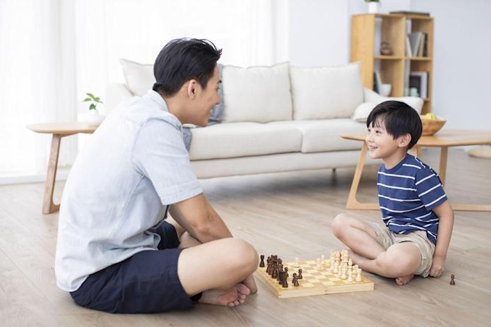 <p>Dust off some of your family's favorite games for a fun game party on Father's Day. Play something ridiculous and silly like Apples to Apples or Catchphrase, something brainy like Boggle or Chess, or something involving a bit more strategy like poker or Risk. </p>
