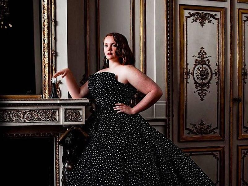 Shannon Purser thrilled to star in Christian Siriano fragrance campaign