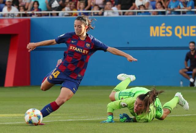 FILE PHOTO: Women's Primera Division - FC Barcelona vs CD Tacon