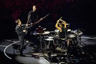 Muse may become the first British band to win twice in the category of Best Rock Album. The band won the award five years ago for The Resistance and is nominated this year for Drones. Odds of this happening: Only fair. Another English artist, James Bay, is out front.