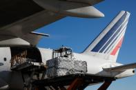 Air France-KLM transports vaccines rabies in France