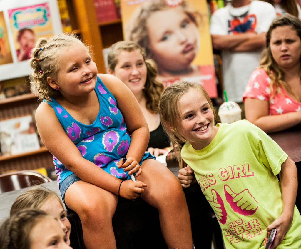 """Alana """"Honey Boo Boo"""" Thompson attends the """"How to Honey Boo Boo: The Complete Guide"""" Book Event at the Barnes and Nobles on July 11, 2013 in Mclean, Virginia."""