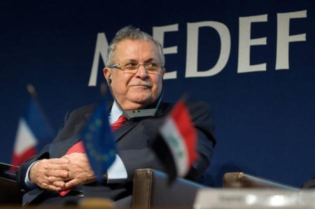 Kurdish leader and ex-Iraqi president Jalal Talabani dies: state TV