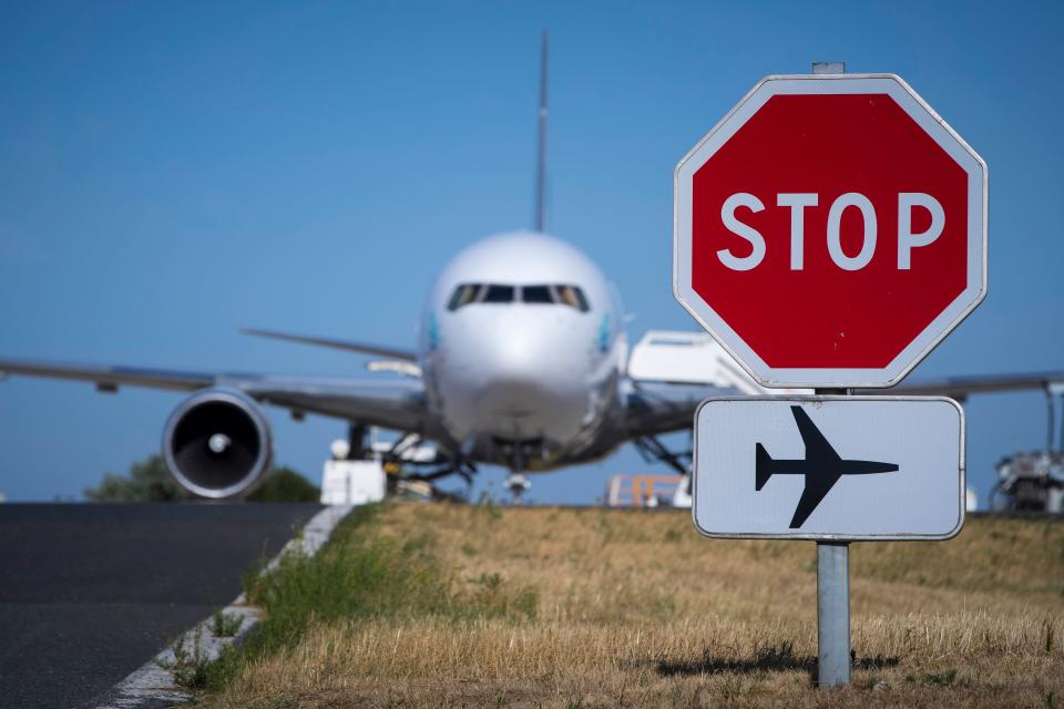 Concerns about UK flights are increasing as Brexit approaches. Photo: Joel Saget/Getty Images
