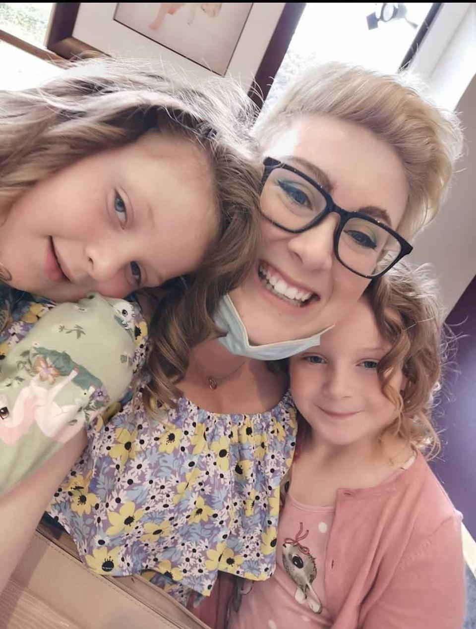 Emily is excitedly planning for the future with her family after finding a stem cell donor in September 2021 (Collect/PA Real Life).