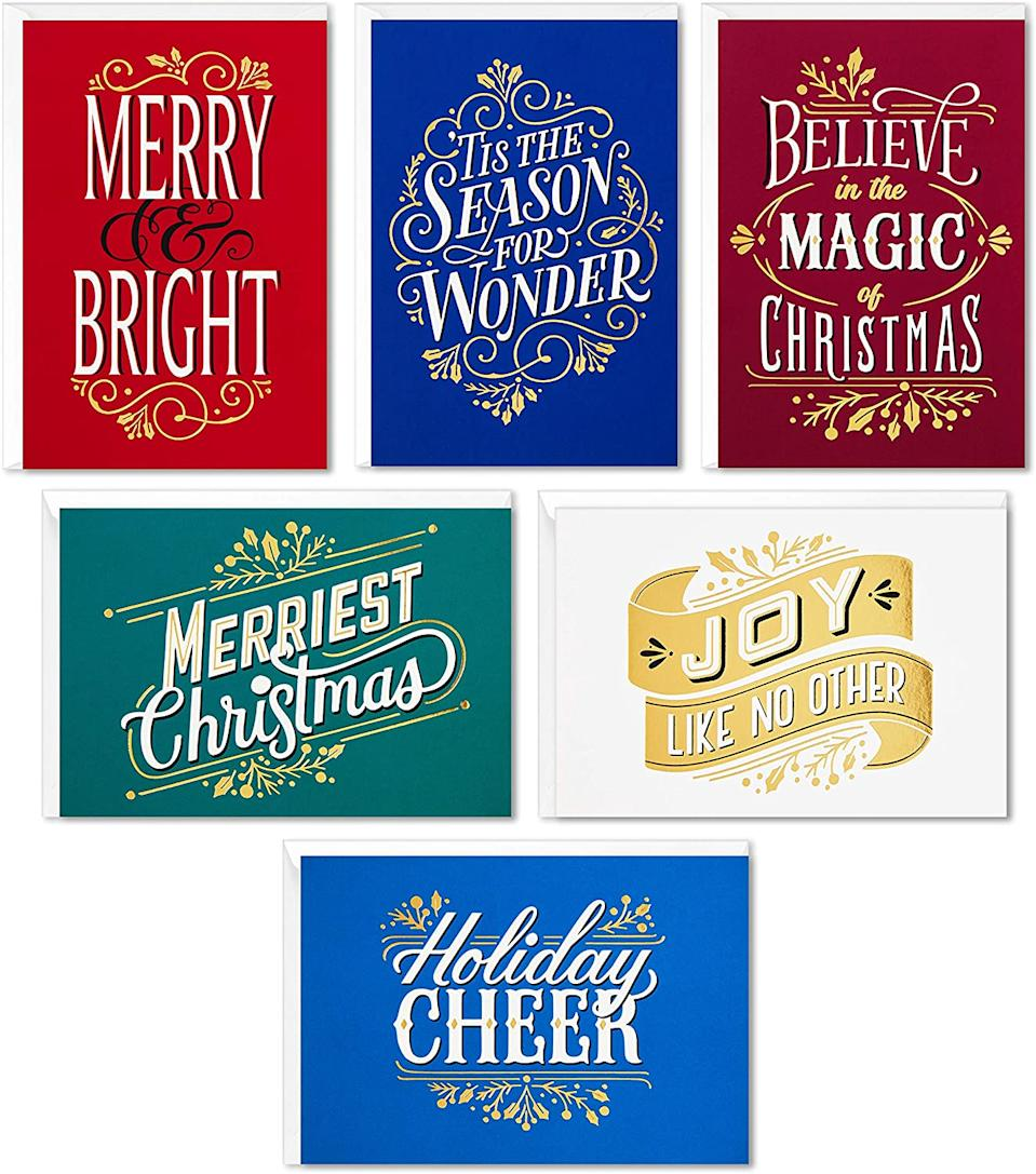 These cards are pretty and bright. (Photo: Amazon)
