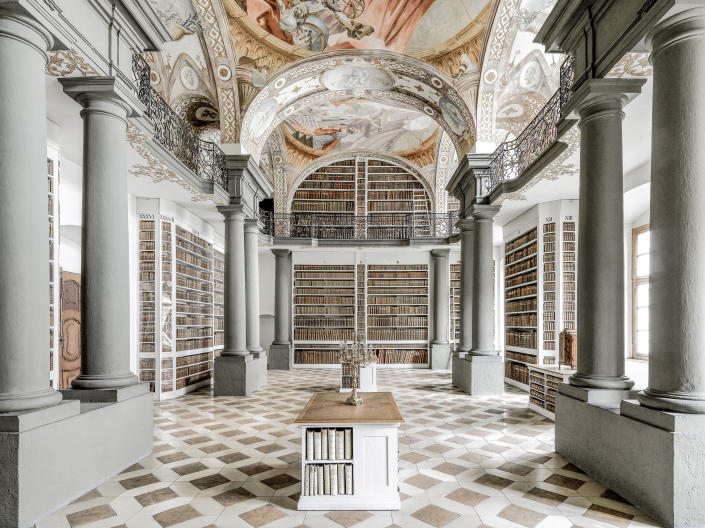 <p>Saint Emmerams Abbey, Germany. (Photo: Massimo Listri/Caters News) </p>