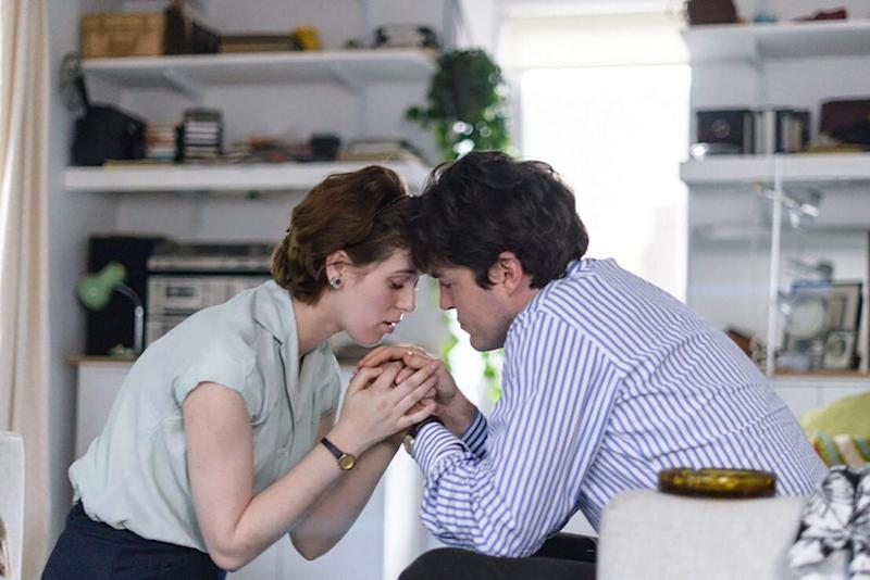 """Honor Swinton Byrne and Tom Burke in """"The Souvenir."""" (Photo: A24)"""