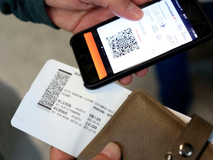 Mobile Boarding Pass