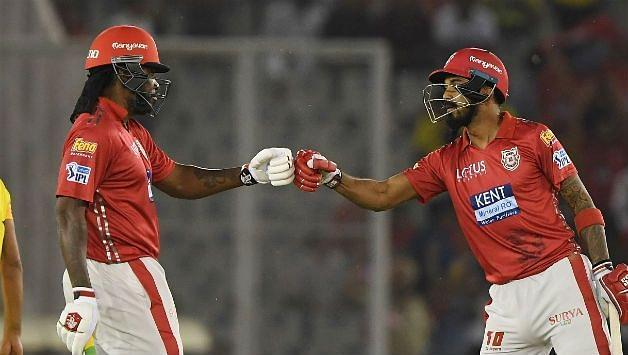Gayle and Rahul have excellent chemistry on and off the field