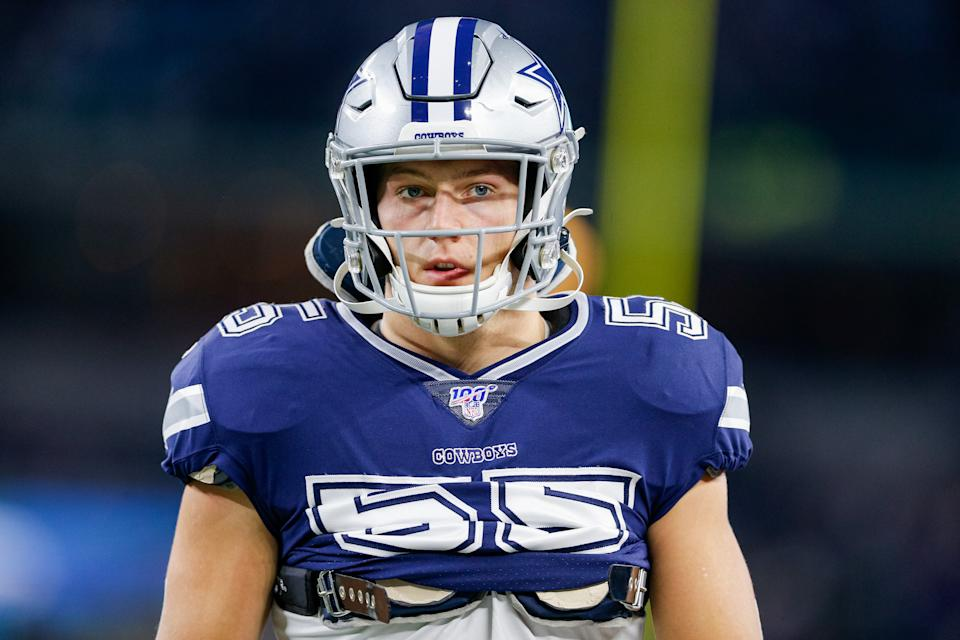 After a lingering neck injury kept him out of Dallas' last five games, linebacker Leighton Vander Esch is officially done for the season.