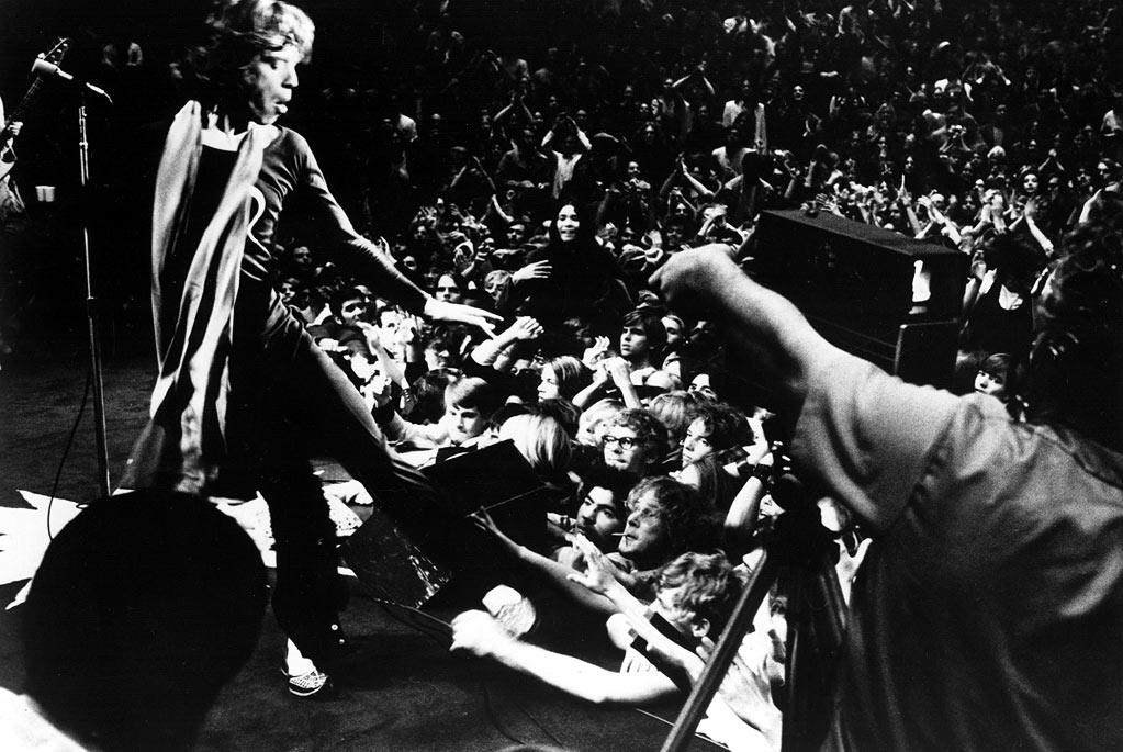 """Gimme Shelter"" (1970): Another classic from another legendary documentarian, Albert Maysles. Here, the volatility doesn't just exist backstage, it permeates every scene, swelling as the film leads up to its explosive climax: the Rolling Stones' concert at Altamont, where a clash between Hell's Angels and fans results in death. Maysles follows the band's 1969 tour, and the feeling of dread is inescapable; the fact that we know what's coming at the end in no way depletes it of its suspense. Mick Jagger tries to quell tensions from the stage, but even being a sexy and charming rock star does no good in a violent crowd of hundreds of thousands. The band's reaction to the footage afterward is chilling."