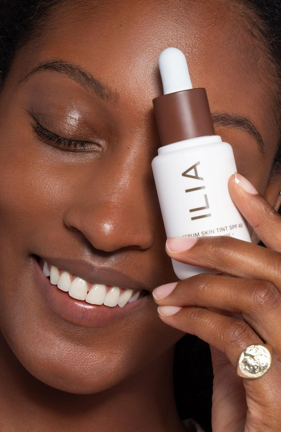 <p>The bestselling <span>Ilia Super Serum Skin Tint SPF 40</span> ($46) is the complexion product you need to embrace skin-imalism! It's hydrating and has a SPF protection - what more could you ask for?</p>