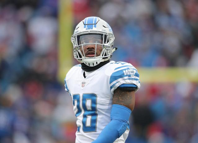 Safety Quandre Diggs was surprised by a trade from the Lions to Seahawks. (Getty Images)
