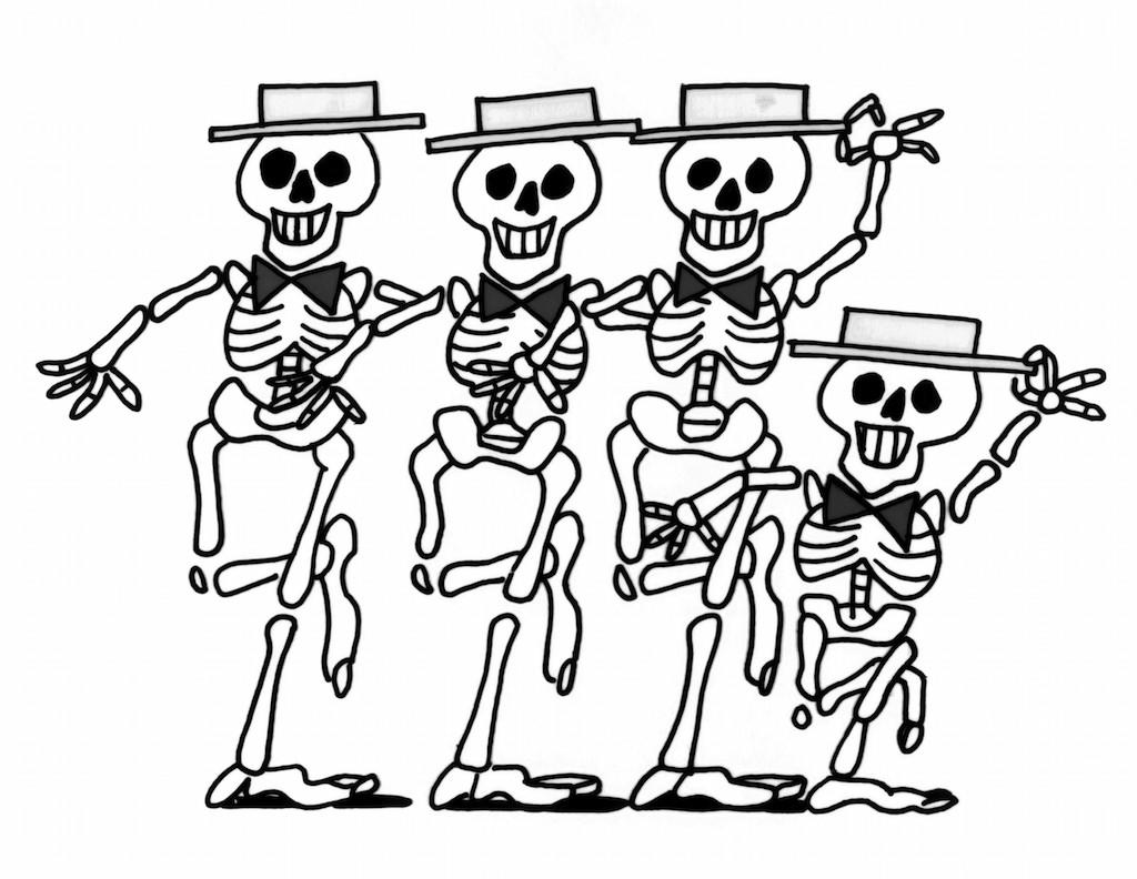 "<p>The animated educational shorts debuted in 1973, airing during ABC's Saturday morning children's programming. In 1979, a ""science rock"" segment featured Halloween-worthy dancing skeletons. (Original airdate: Jan. 6, 1979) <br />(Credit: Everett Collection) </p>"