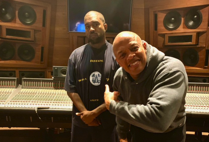 Kanye West teases Jesus Is King Part II with Dr. Dre