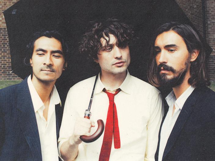<p>Flyte's Will Taylor (centre) – 'I was at pains not to be that person pointing the finger'</p> (Jan Philipzen)