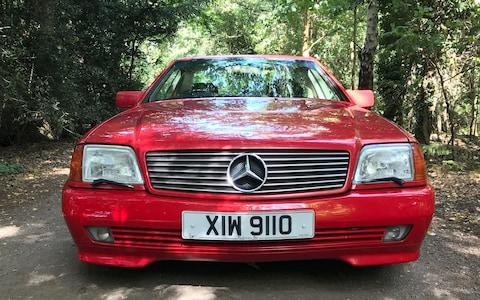1992 Mercedes 300 SL 24V (R129 series) - Vicky Parrott owns it as a (hopefully) appreciating classic