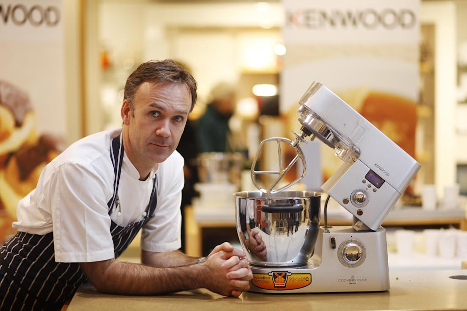 Michelin Starred Chef Marcus Wareing launches the revolutionary Kenwood Cooking Chef at John Lewis, Oxford Street in central London.