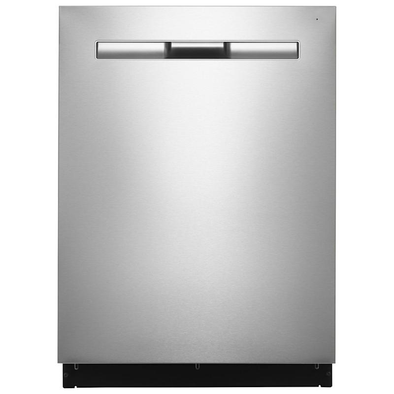 """Maytag 24"""" 48dB Built-In Dishwasher with Stainless Steel Tub & Third Rack (MDB8989SHZ) - Stainless Steel"""