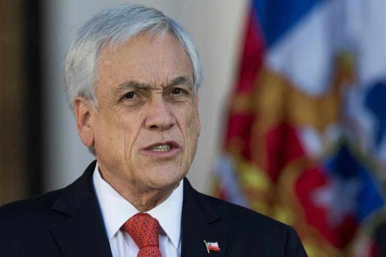 """Chile's President Sebastian Pinera says """"a better definition of human rights"""" is among proposed changes to the constitution"""