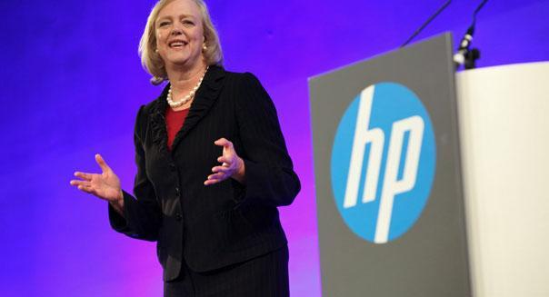 hewlett packard ceo meg whiteman earnings pc sales