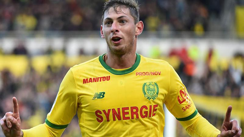 Emiliano Sala in action for Nantes before his transfer to Cardiff. Image: Getty