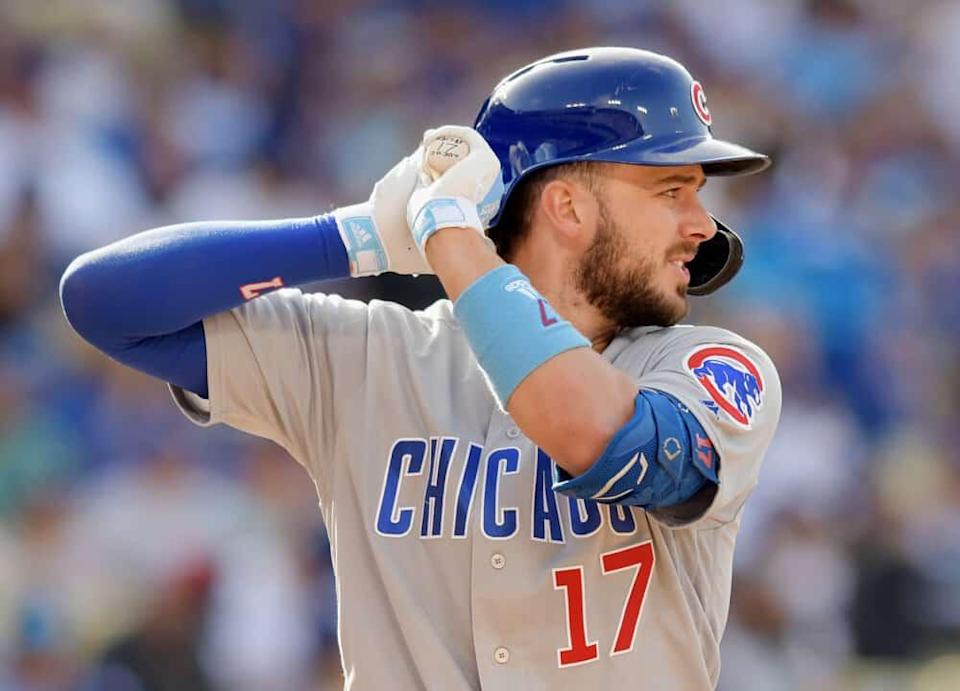 MLB DFS Picks, top stacks and pitchers for Yahoo, DraftKings + FanDuel daily fantasy baseball lineups, including Kris Bryant   Monday 6/14