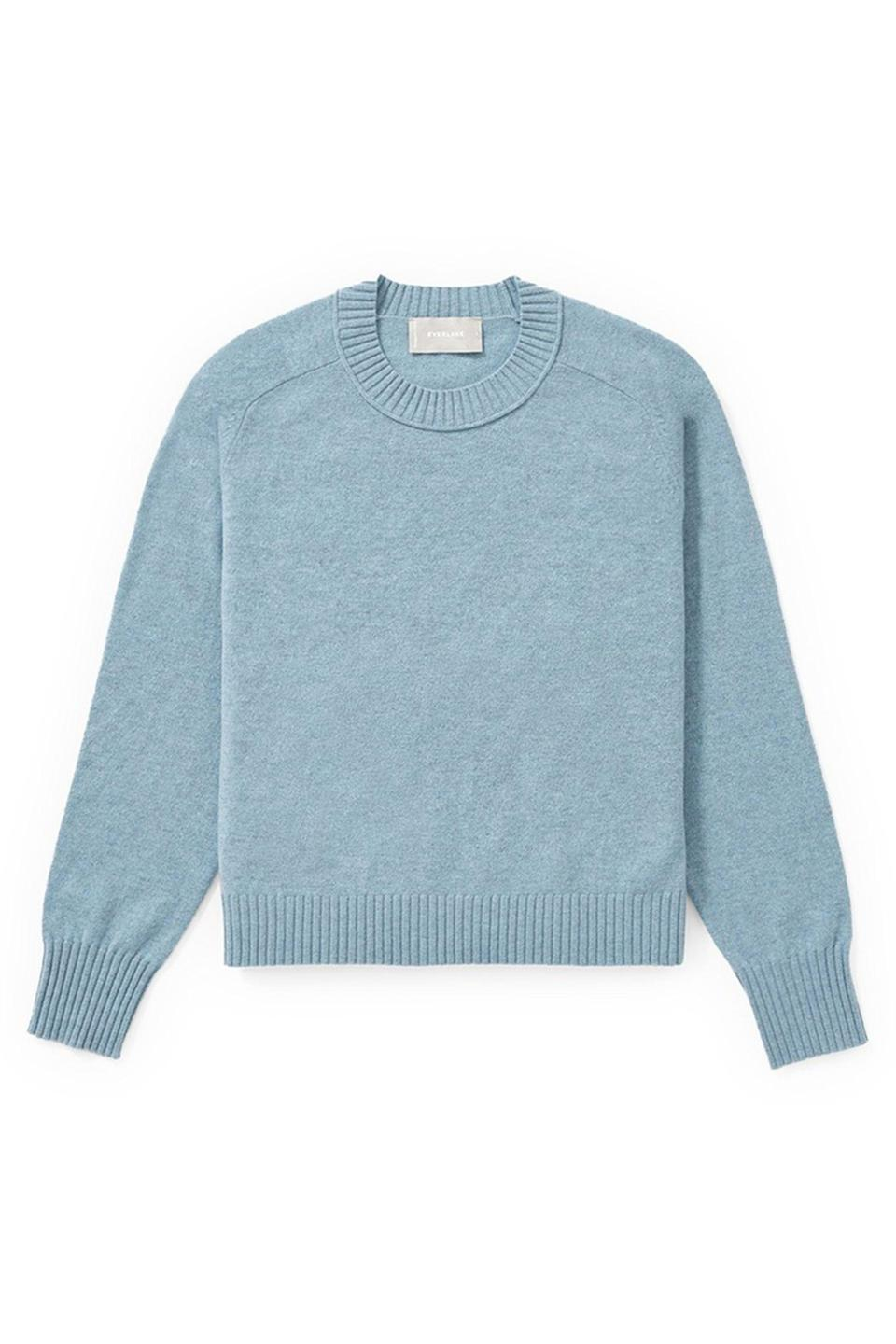"<p><strong>Everlane</strong></p><p>nordstromrack.com</p><p><strong>$49.97</strong></p><p><a href=""https://go.redirectingat.com?id=74968X1596630&url=https%3A%2F%2Fwww.nordstromrack.com%2Fshop%2Fproduct%2F3236194&sref=https%3A%2F%2Fwww.elle.com%2Ffashion%2Fshopping%2Fg33468956%2Feverlane-nordstrom-rack-sale%2F"" rel=""nofollow noopener"" target=""_blank"" data-ylk=""slk:Shop Now"" class=""link rapid-noclick-resp"">Shop Now</a></p><p><strong><del>$95</del> $49.97 (47% off)</strong></p><p>Per this vintage-feeling crew neck's sweater's description, this is a classic crew neck with a little more attitude. As if that wasn't enough to make us fall in love, this sweater is made from premium Italian yarn that's been recycled for 50% less impact.</p>"