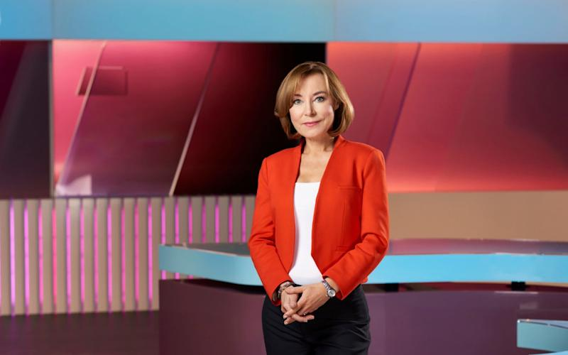 Sian Williams is a 5 News anchor - the channel has a positive gender pay gap - Channel 5