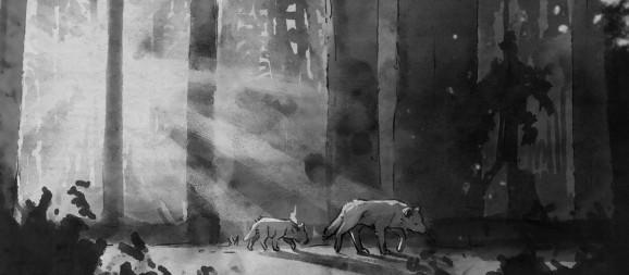 The big wolf and the little wolf in Life is Strange 2.