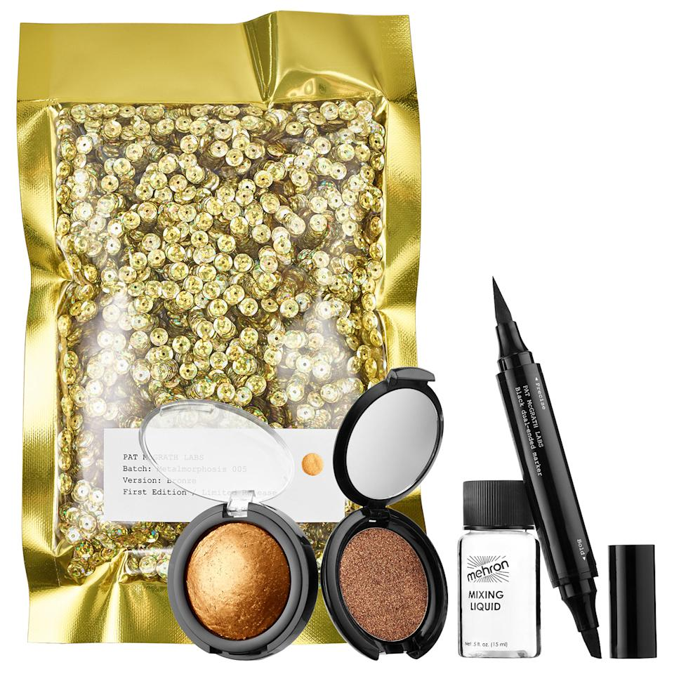"<p>Forget breaking the Internet, Pat McGrath's metallic eye pigment kit has all the tools needed for a makeup look that would make anyone stop you on the street to find out what's on your eyes.  </p> <p>$60 | <a rel=""nofollow"" href='http://click.linksynergy.com/fs-bin/click?id=93xLBvPhAeE&subid=0&offerid=429865.1&type=10&tmpid=719&RD_PARM1=http%253A%252F%252Fwww.sephora.com%252Fmetalmorphosis-005-kit-P414605%253FskuId%253D1896653%2526icid2%253Dpat_mcgrath_carousel_us%25253Ap414605&u1=ISELglitterbeautygifts'>SHOP IT</a></p>"