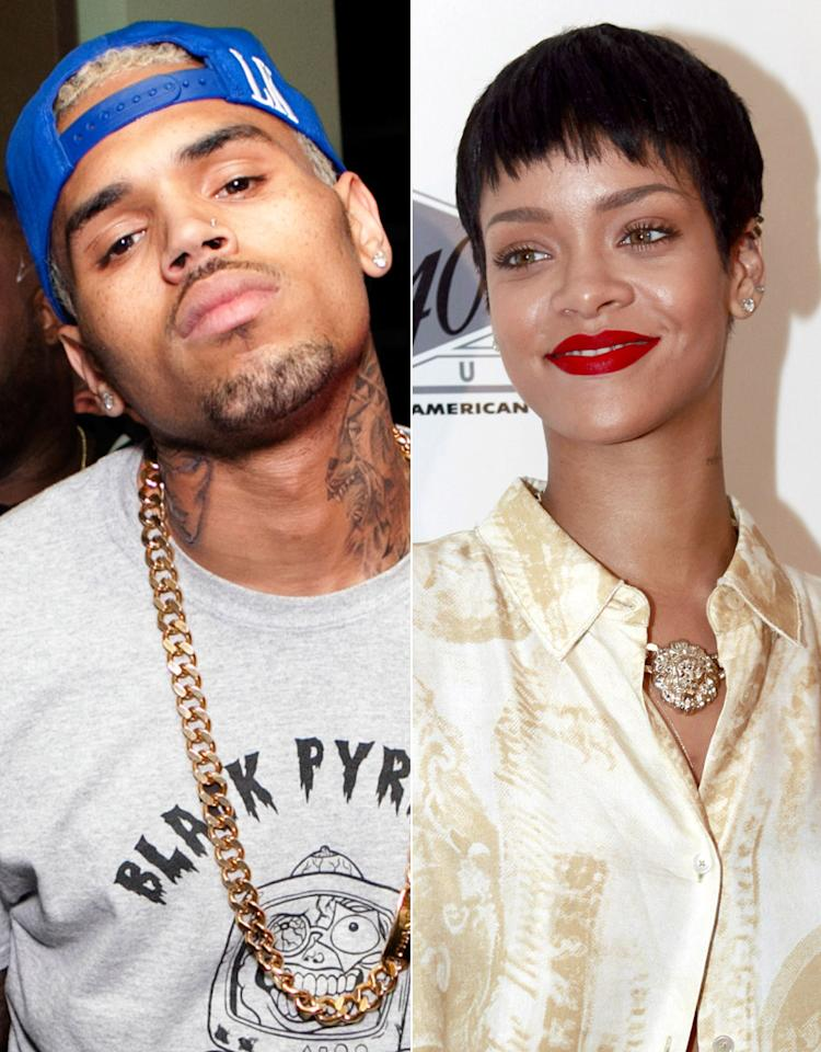 Chris Brown, Rihana