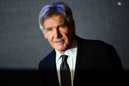 FILE PHOTO: Harrison Ford arrives at the European Premiere of Star Wars, The Force Awakens in Leicester Square, London