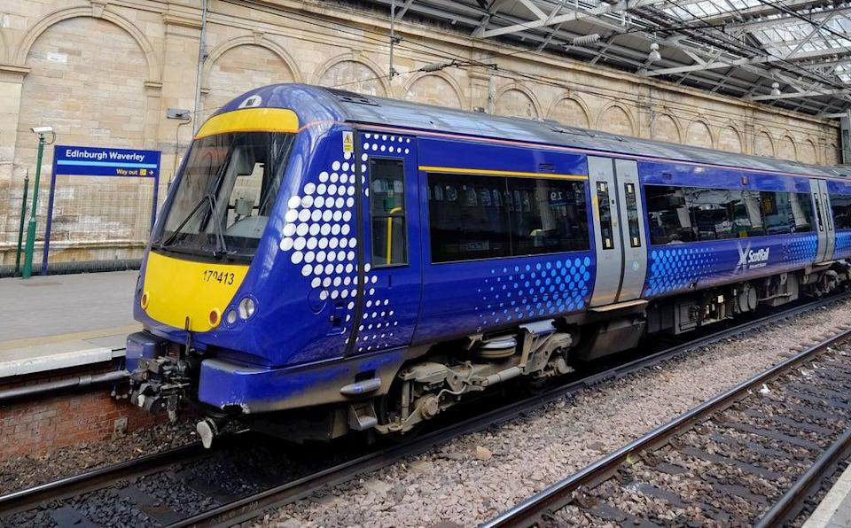 ScotRail members will strike during Cop26 (Jane Barlow/PA) (PA Archive)