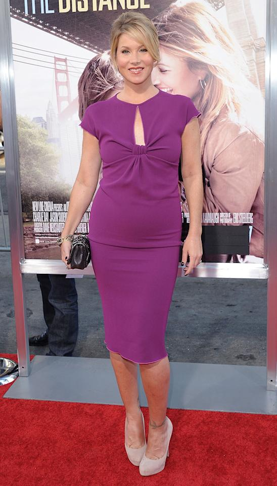 """<a href=""""http://movies.yahoo.com/movie/contributor/1800022673"""">Christina Applegate</a> at the Los Angeles premiere of <a href=""""http://movies.yahoo.com/movie/1810105852/info"""">Going the Distance</a> - 08/23/2010"""