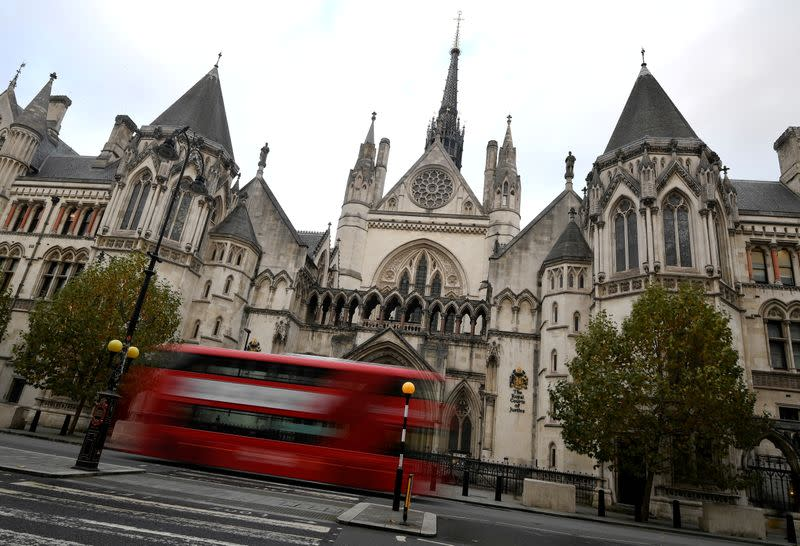FILE PHOTO: General view of the High Court in London