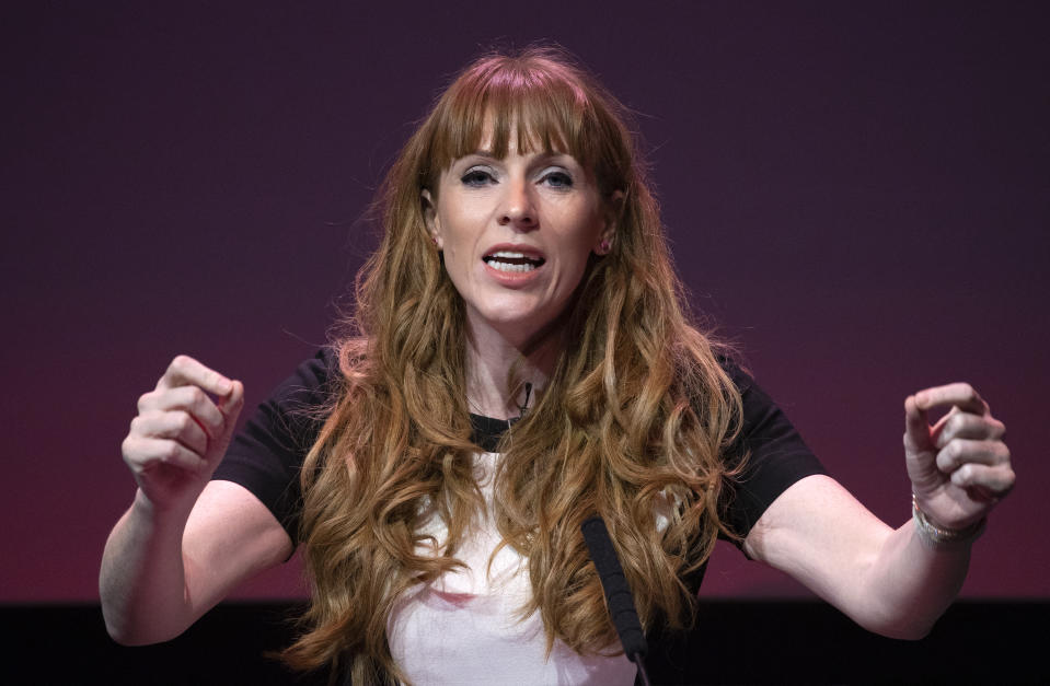 File photo dated 15/02/20 of Angela Rayner who has won the Labour party deputy leadership race by 52.6% of the vote.