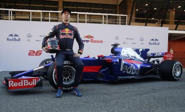 The survivor: Daniil Kvyat may have had a rough ride from Red Bull but he's kept his F1 seat this year