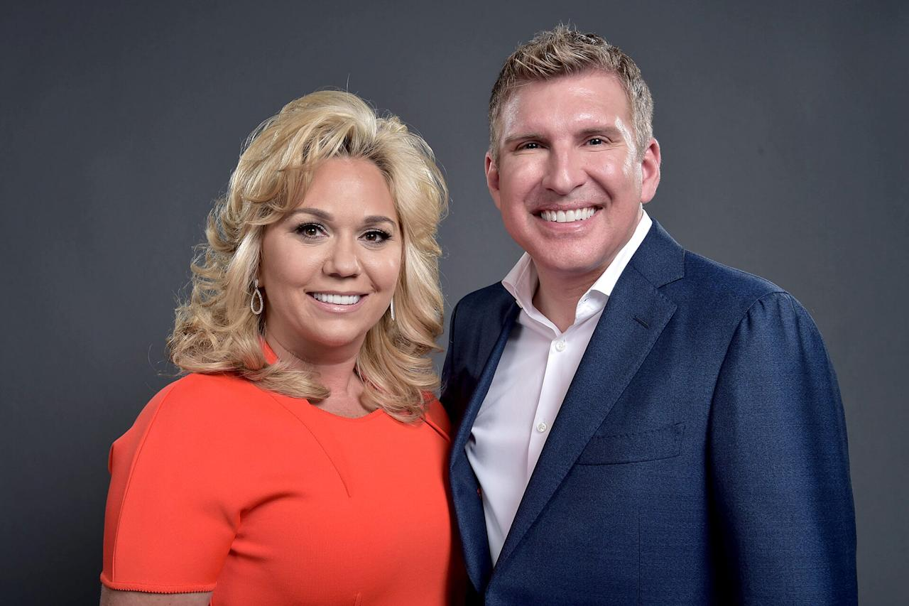 "The <a href=""https://people.com/tv/chrisley-knows-best-scandal-family-tree/""><em>Chrisley Knows Best</em></a> stars pled <a href=""https://people.com/tv/todd-julie-chrisley-plead-not-guilty-tax-evasion/"">not guilty</a> on Aug. 14, 2019, hours after <a href=""https://people.com/tv/todd-julie-chrisley-turn-themselves-in-tax-evasion/"">turning themselves in</a> for indictments of tax evasion, wire fraud and conspiracy bank fraud. Prosecutors also claim the Chrisleys used their production company, 7 C Production, to hide their reality TV income from the IRS, and allege that Todd directed an employee to falsify income and asset documents.   According to <a href=""https://www.wsbtv.com/news/local/atlanta/reality-tv-stars-todd-and-julie-chrisley-turn-themselves-in-on-federal-charges/975904636"">WSBTV Atlanta</a>, the couple walked into the courtroom ""shackled,"" but walked out ""vowing to fight."" A judge set an unsecured bond of $100,000 each with travel restrictions. (Todd and Julie are allowed to visit California to tape their reality show as long as they notify probation officers.)  ""We stand in our faith, and we stand in what we know is right. We are fortunate to have the counsel that we have and our family will stick together, and we'll walk this road because we know that the good Lord will hold our hand and take us through,"" Todd told local reporters.  The night prior to the <a href=""https://people.com/tv/todd-julie-chrisley-indicted-tax-evasion-financial-crimes/"">indictment</a>, Todd shared a lengthy <a href=""https://www.instagram.com/p/B1FBsnfn_4q/?utm_source=ig_embed"">Instagram statement</a> <a>denying any wrongdoing</a> on behalf of himself and his wife. Instead, he pointed blame at an unidentified ex-employee who he claimed had stolen from his family, created ""phony documents"" and forged signatures years ago."