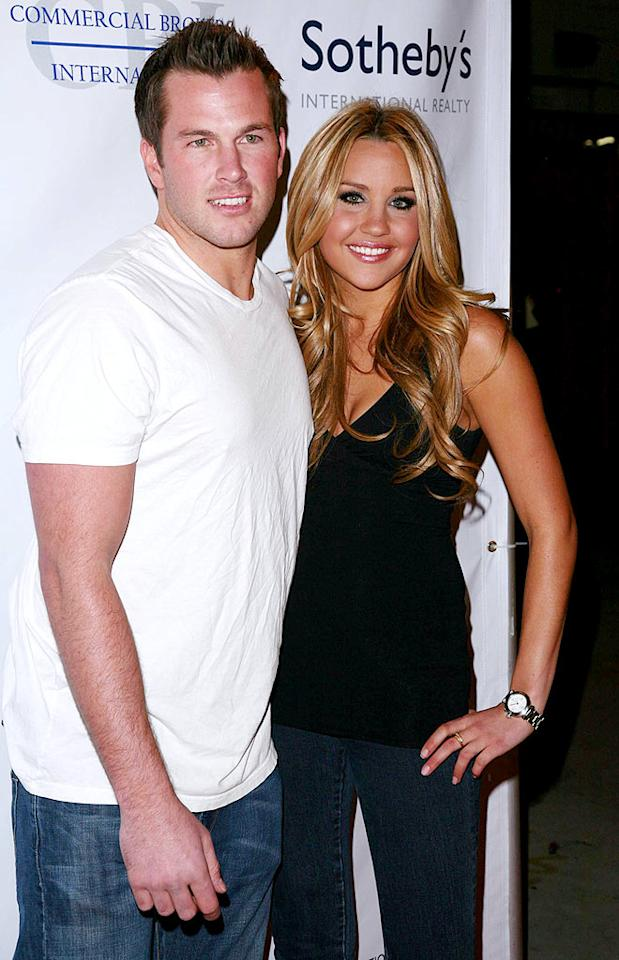 "Amanda Bynes reportedly dumped her boyfriend Doug Reinhardt last week, despite appearing with him at a basketball fundraiser on Tuesday. ""Everyone thought he was using her for celebrity,"" a source close to the 22-year-old actress told Usmagazine.com. Kiley Bishop/<a href=""http://www.splashnewsonline.com"" target=""new"">Splash News</a> - January 13, 2009"