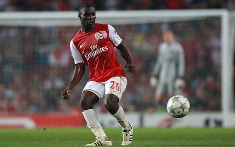 <span>Former Arsenal midfielder Emmanuel Frimpong, who is from Ghana, said Spartak Moscow fans subjected him to monkey chants in 2015</span> <span>Credit: Nick Potts/PA Archive </span>