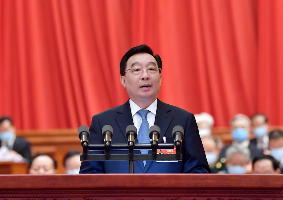 National People's Congress Standing Committee vice-chair Wang Chen (pictured) is also president of the China Law Society. Photo: Xinhua