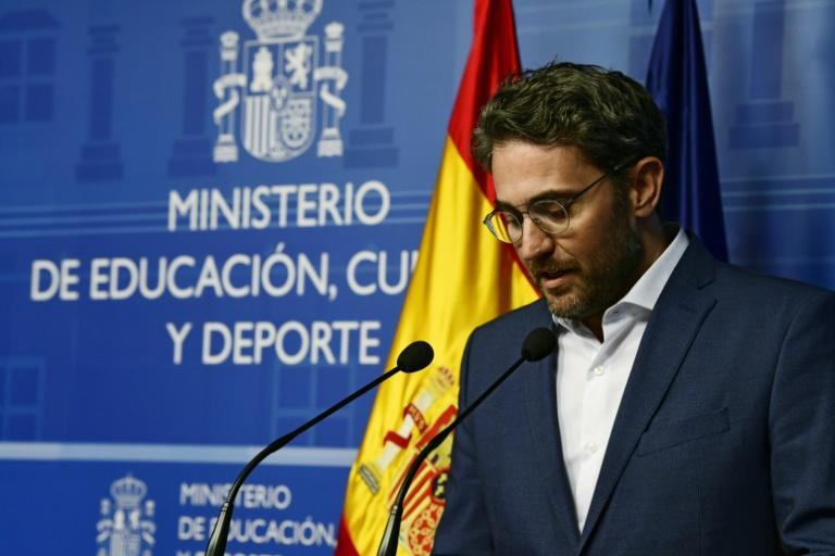 Spanish minister of culture and sports Maxim Huerta resigned a week after the new government took over when it emerged he was fined for tax evasion